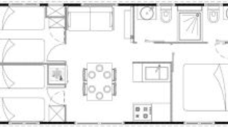 italien adria und mobile home bungalow