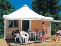 Glamping Holidéole 25 m2 max 5 Pers.