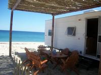 Caravane (loyer) Caravan at the Beach 4-5 Pers. Place A