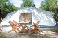 Tente (loyer) Luxury Tent 4 Pers. + Car