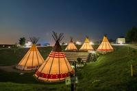 Glamping-Unterkunft New 2015: Tipi Tent / Indian village