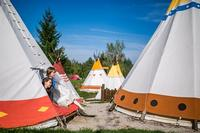 New 2015: Tipi Tent / Indian village