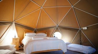 Glamping Durrell Wildlife Camp
